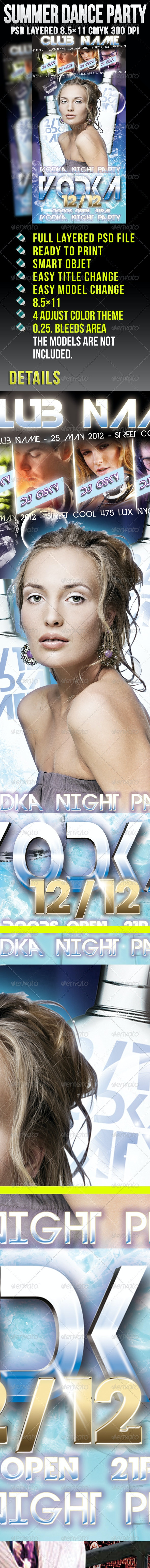 Vodka Night Party - Clubs & Parties Events