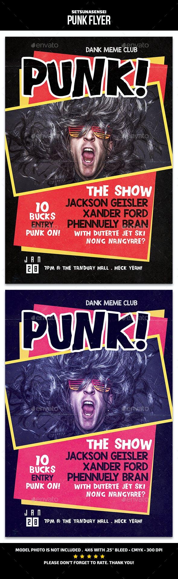 Punk Flyer