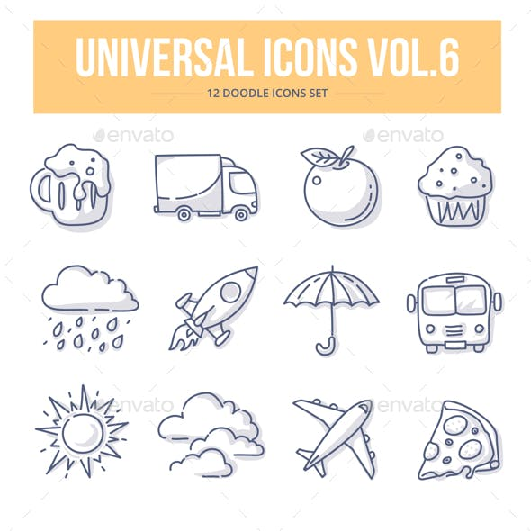 Universal Doodle Icons vol.6