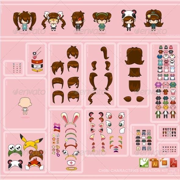 Chibi Characters Creation Kit vol. 1