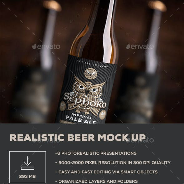 Beer Mock up