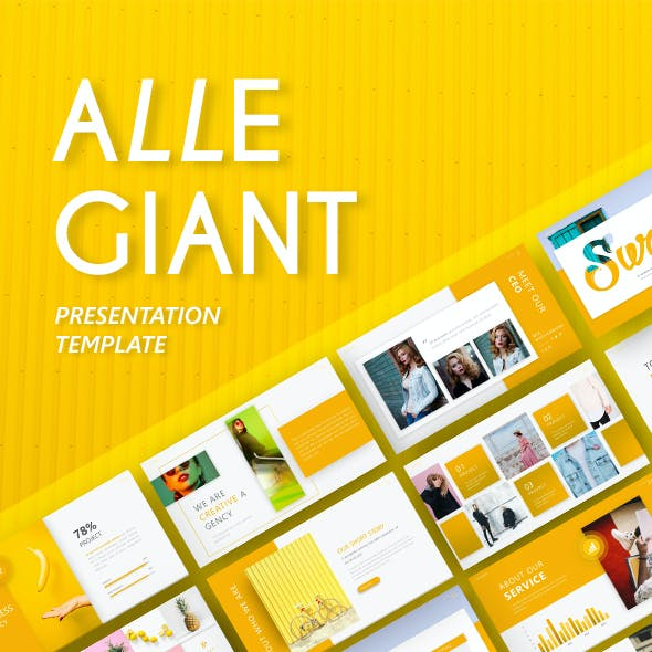 Allegiant - Fashion Presentation Template