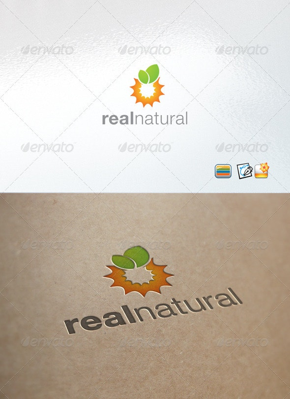 RealNatural - Nature Logo Templates