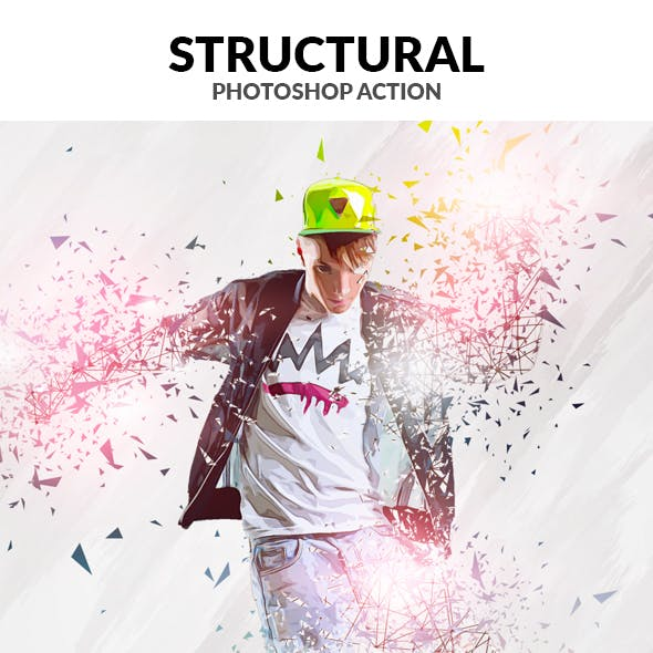 Structural Photoshop Action