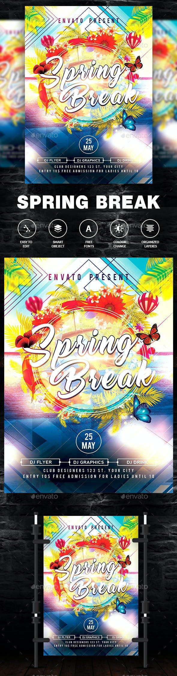 Summer Break Flyer / Poster