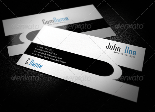 Designer Business Card 2 - Corporate Business Cards