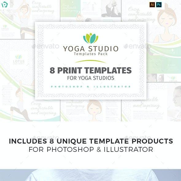 Yoga Studio Templates Bundle
