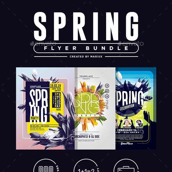 Spring Flyer/Poster Bundle