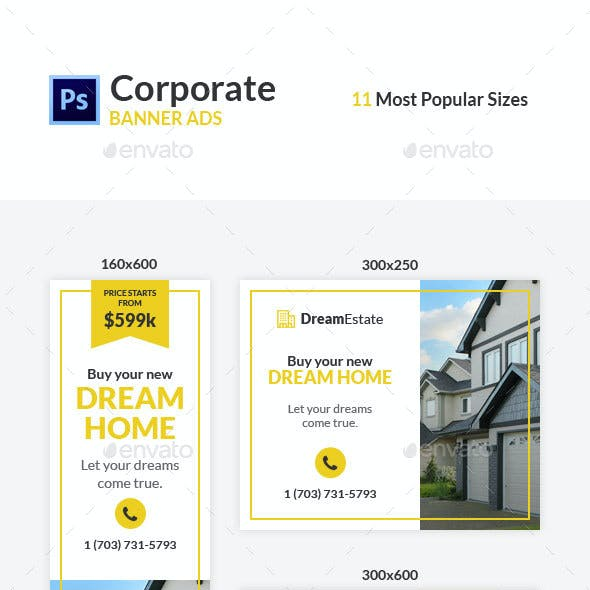Real Estate Ad Banners #1