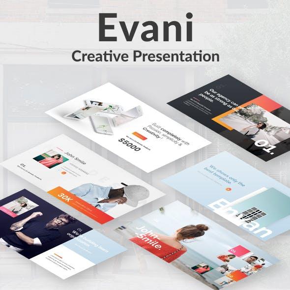 Evani Creative Design Google Slide Template