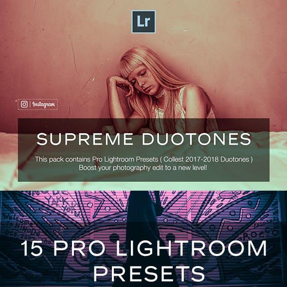 Duotone Lightroom Presets