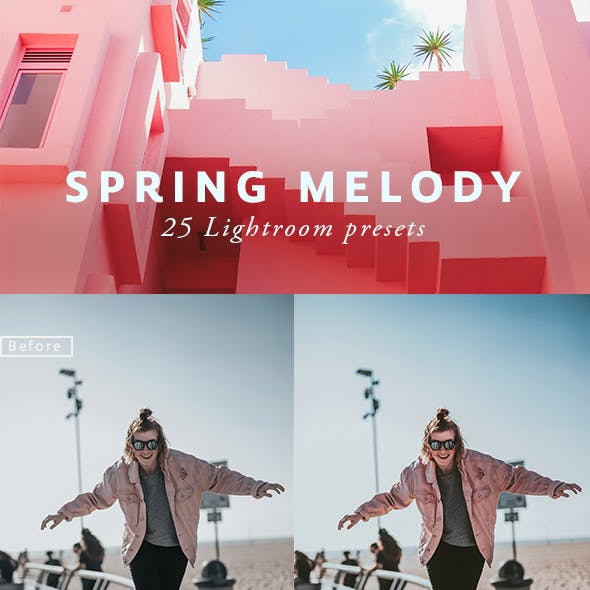 25 Spring Melody Lightroom Presets