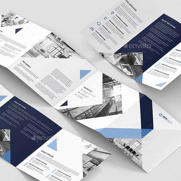 Digital Agency – Brochures Bundle Print Templates 10 in 1