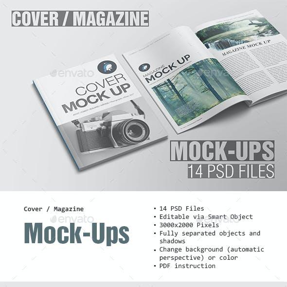Cover / Magazine Mockup