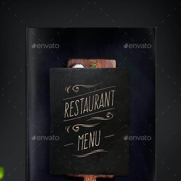 Restaurant Menu -  Food & Drinks