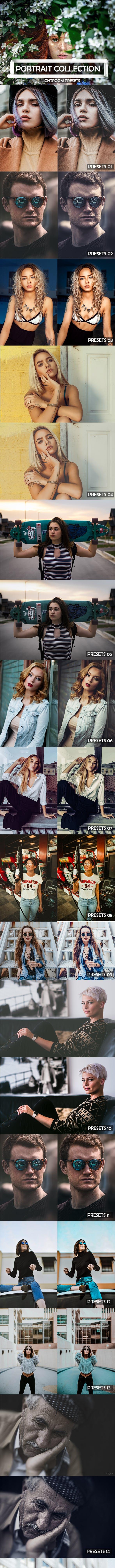 27 Pro Portrait Lightroom Presets