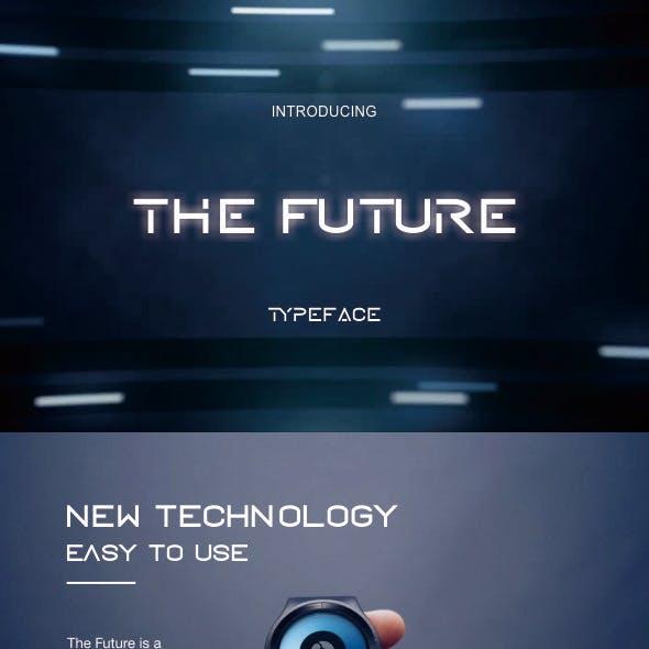 THE FUTURE TYPEFACE