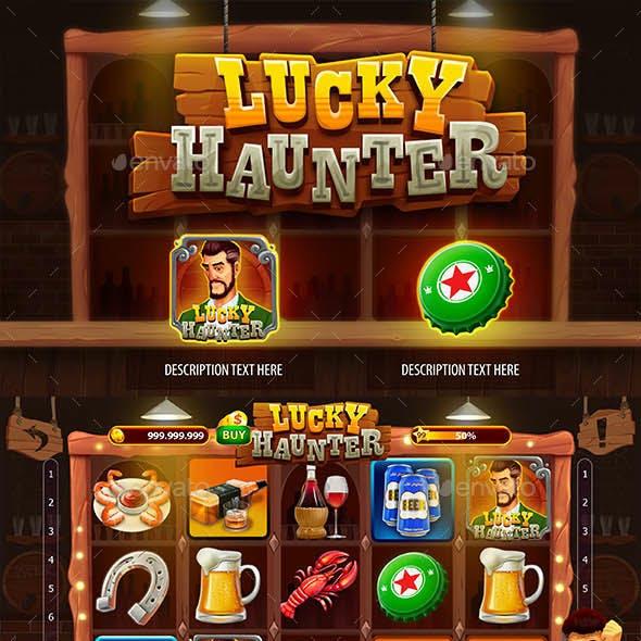 Lucky Haunter Slot Game Kit