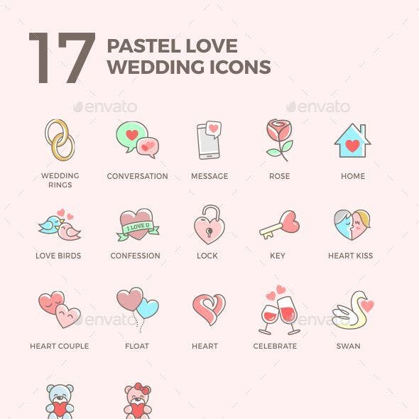 Pastel Love Set