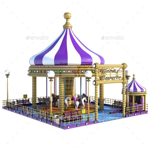 Cartoon Carousel