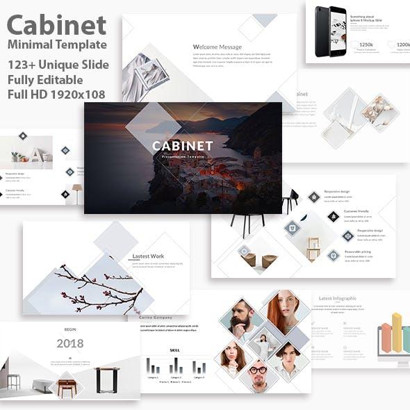 Cabinet Minimal Google Slide Template