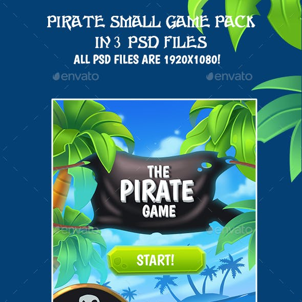 Pirate Small Graphic Game Kit