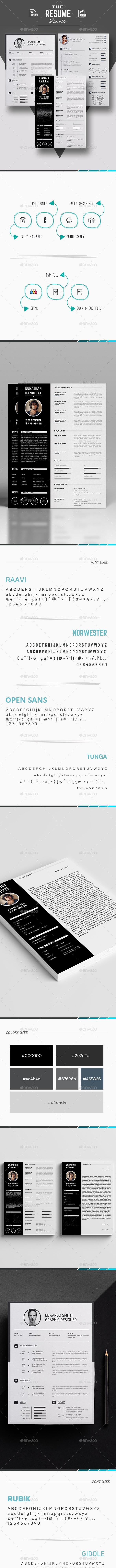 Bundle - Resumes Stationery