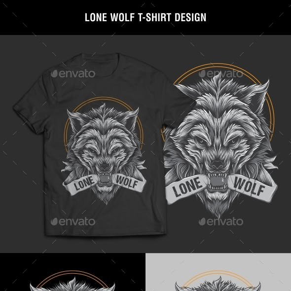 Lone Wolf T-Shirt Design