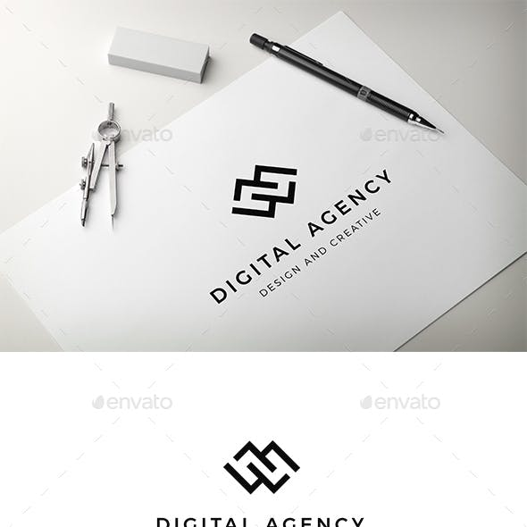 Digital Agency Logo Template