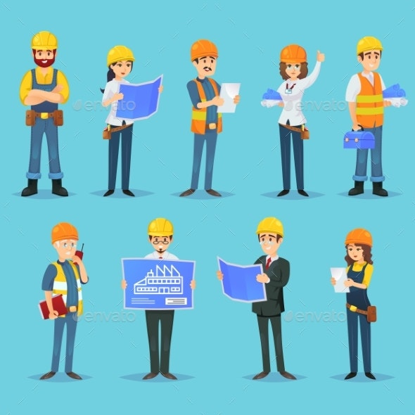 Characters of Builders and Constructors - Miscellaneous Vectors