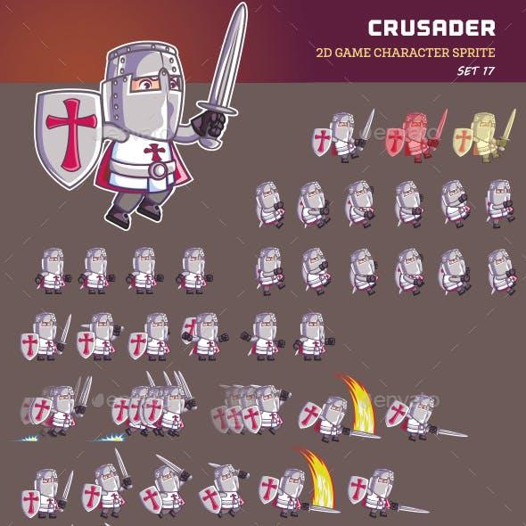 Crusader Game Sprite