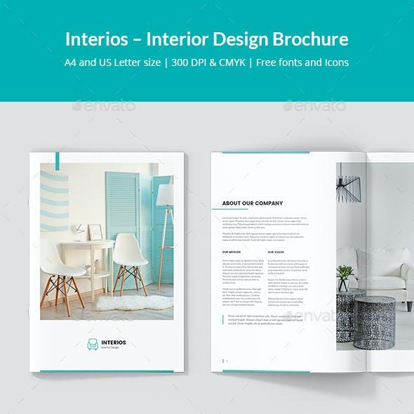 Interios – Interior Design Brochure