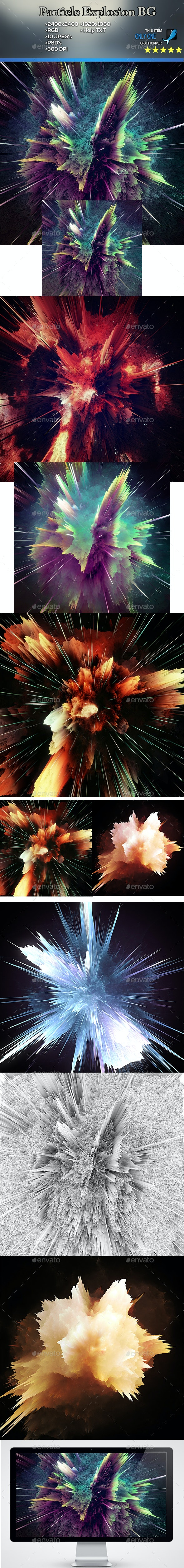 Nebula Explosion - Abstract Backgrounds