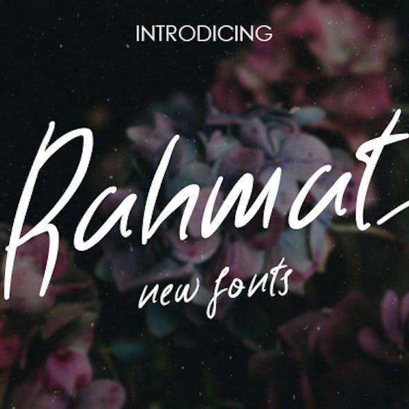 Rahmat Fonts