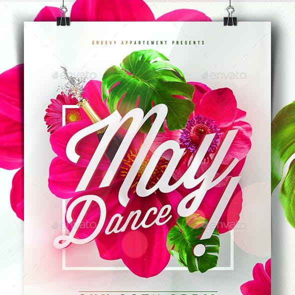 May Dance Flyer