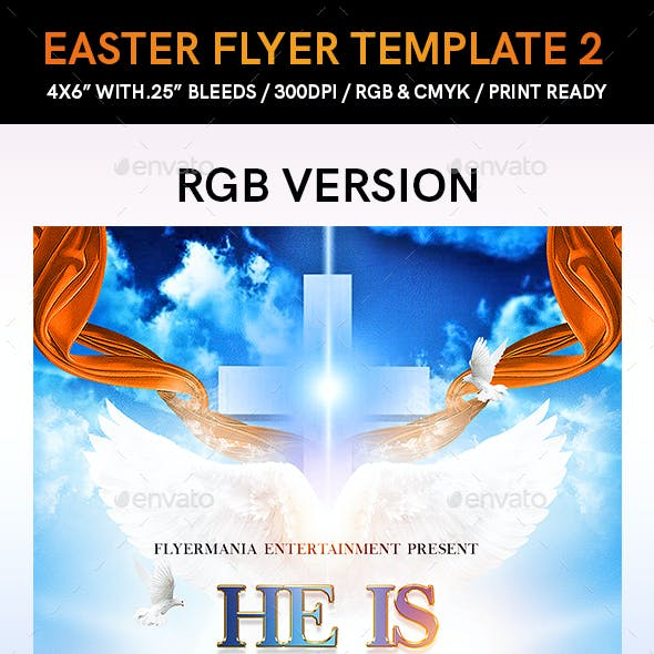 Easter Flyer Template 2