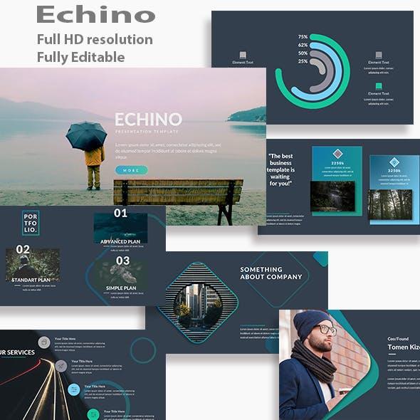 Echino Multipurpos Keynote Template