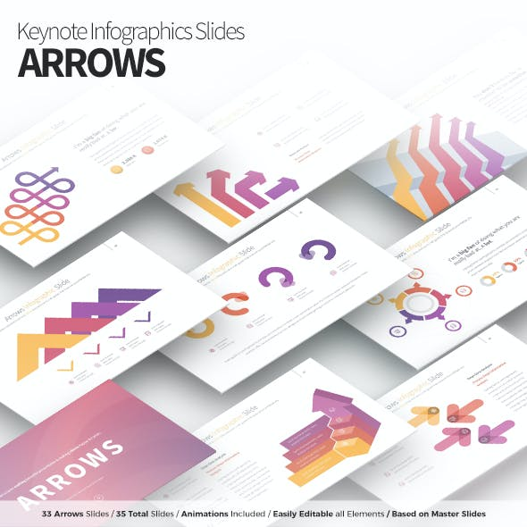 Arrows - Keynote Infographics Slides