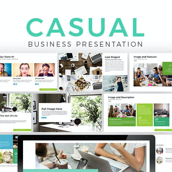 Casual Business Presentation Template