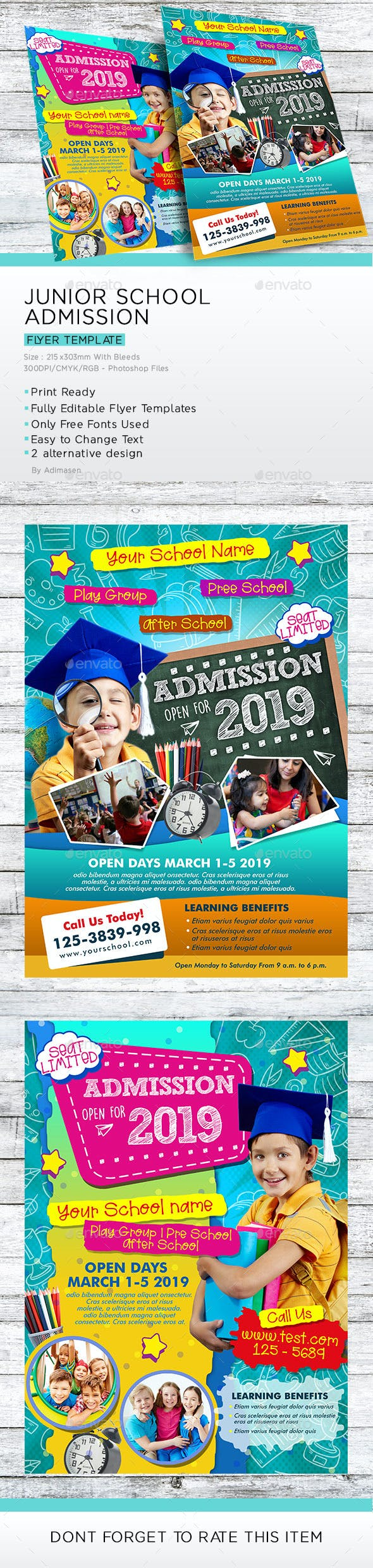 Junior School Admission Flyer