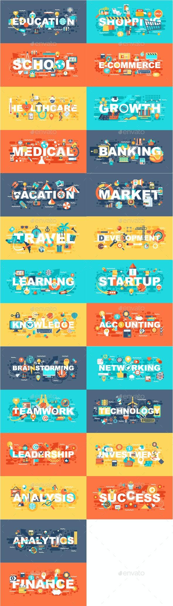 Set of Flat Concepts - Concepts Business