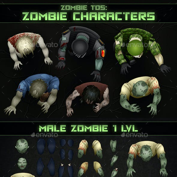 Top-Down Shooter: Zombie