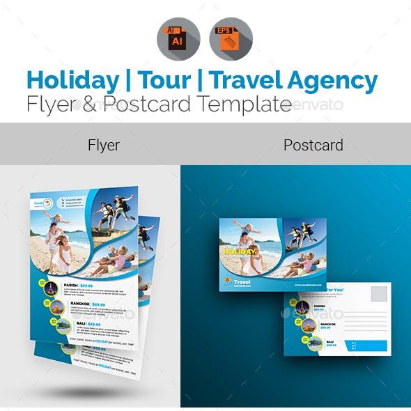 Travel Flyer & Postcard Bundle