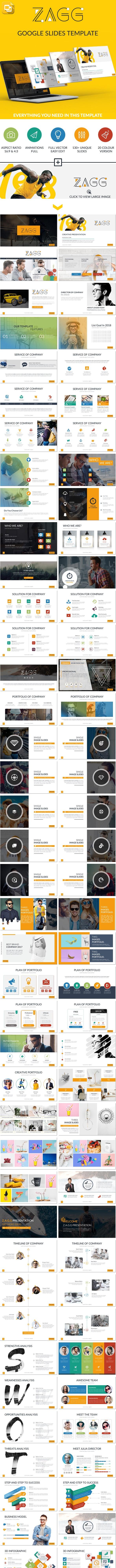 Zagg Google Slides Presentation Template - Google Slides Presentation Templates