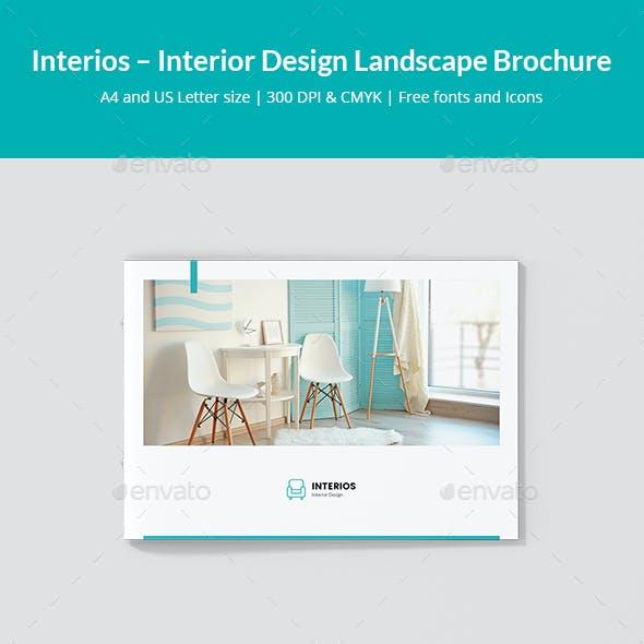 Interios – Interior Design Landscape Brochure