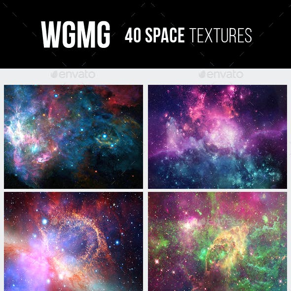 40 Space Galaxy Textures