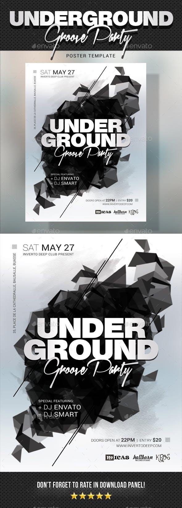 Underground Groove Poster