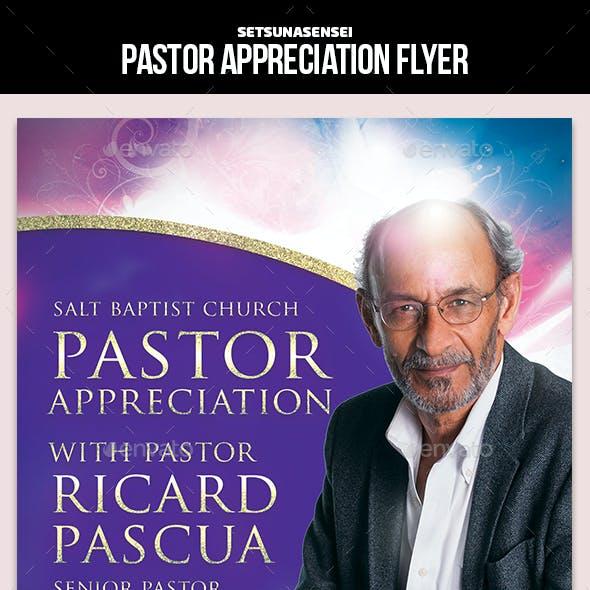 Pastor Appreciation Flyer