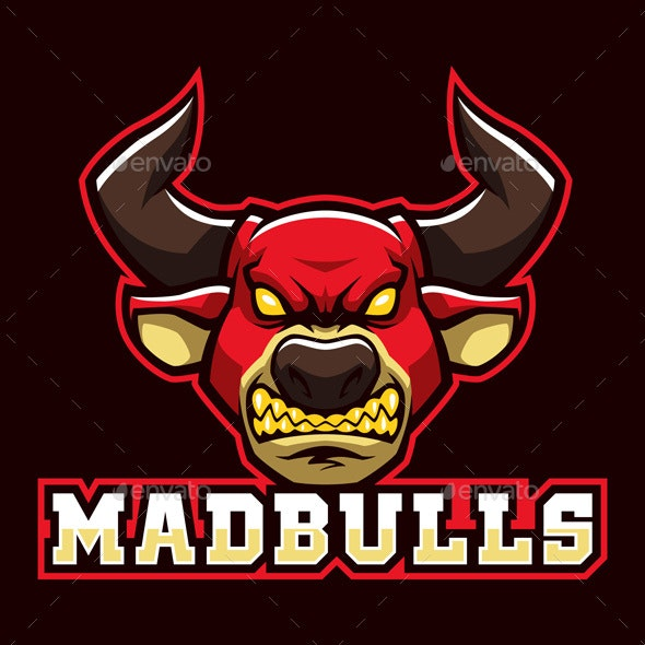 Mad Bulls - Animals Characters