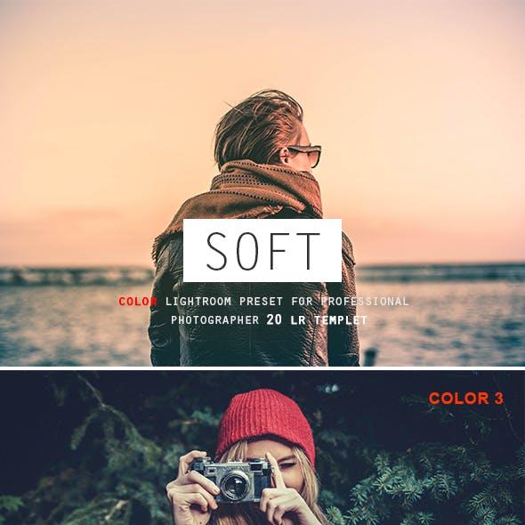 20 Soft Color Lightroom Preset